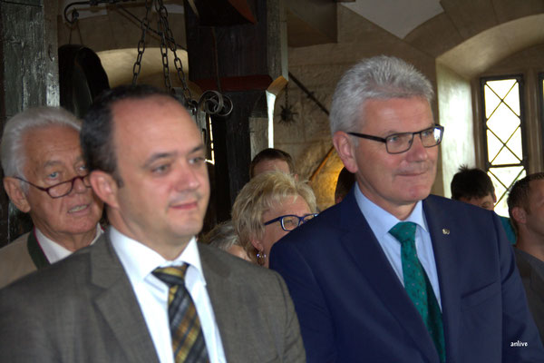 v.l. Manuel Westphal, MdL - Artur Auernhammer, MdB.