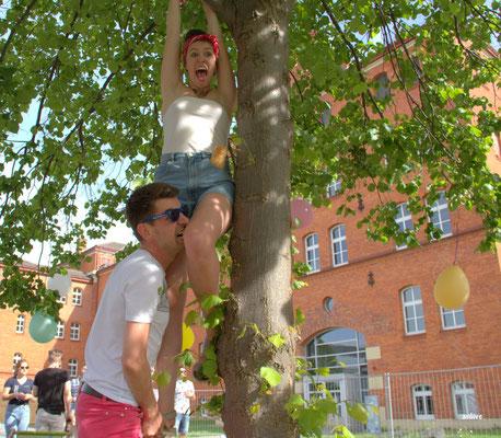Klettern am Campus !