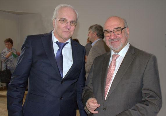 Olgierd Adolph, Verwaltungsgerichtspräsident - Dr. Peter Bauer, MdL