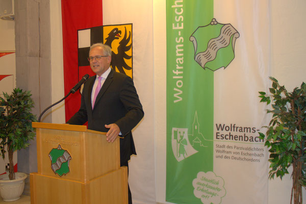 Richard Bartsch, Bezirkstagspräsident von Mittelfranken