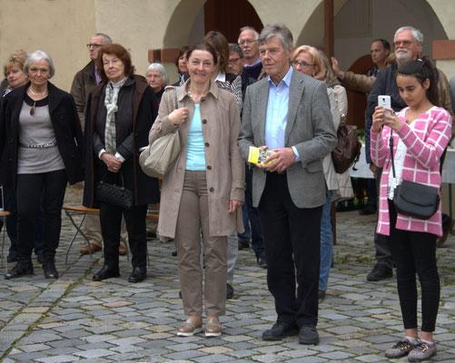 OB Carda Seidel, Ansbach , Josef Göppel, MdB