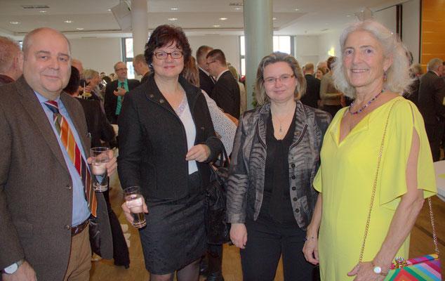 Werner Schäfer, Prof. Dr. Ute Ambrosius, Hochschulpräsidentin, Renate Hans, Bürgermeisterin, Lehrberg, Hildegund Rüger