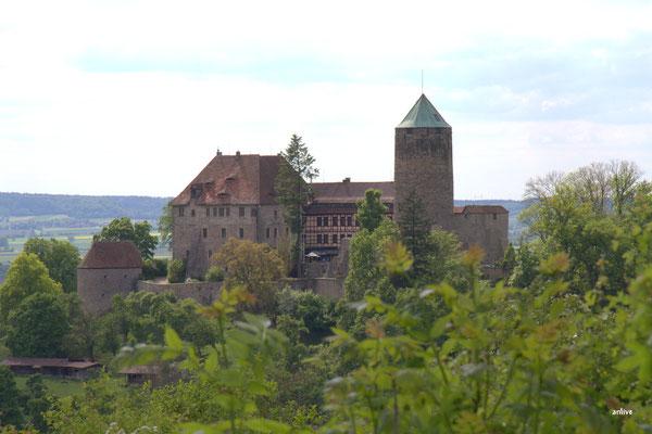 Burg Colmberg, mit Hotel Restaurant