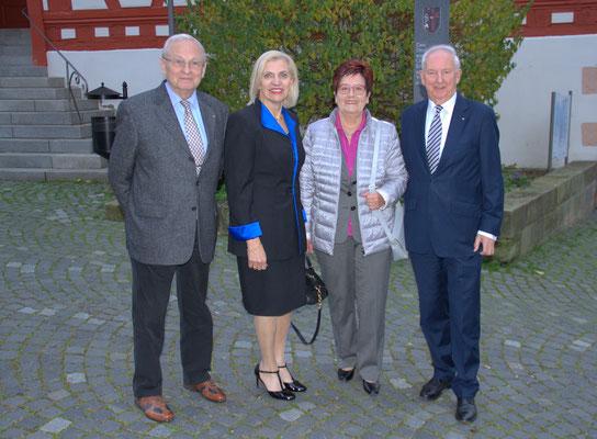 Friedrich Hilterhaus, Ingrid Malecha, Frau Ludwig, Dr. Ingo Friedrich