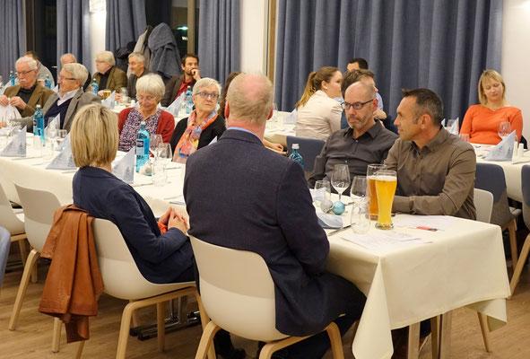 2. v. rechts, Hans-Jürgen Eff, OB Kandidat 2020, Ansbach