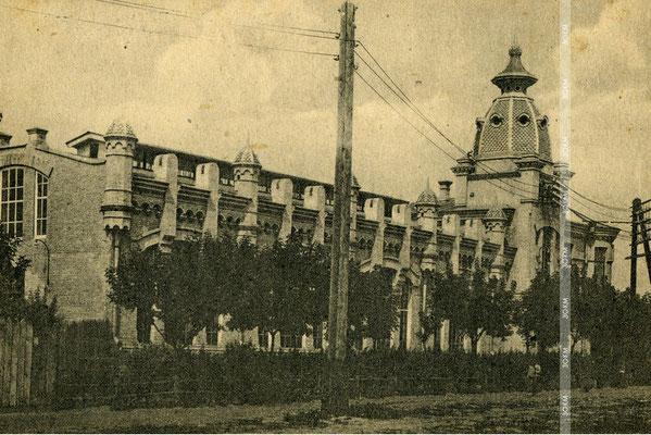 Місто Олександрівськ. Міська електростанція.