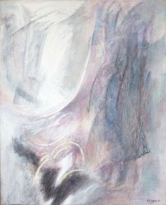 Images I | Ei-Tempera auf Leinwand | 61x76 cm | 1981
