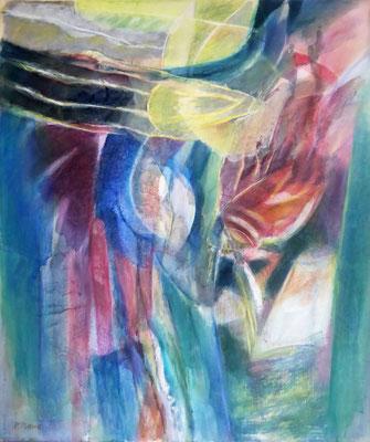 Erweckung | Eitempera auf Leinwand | 100x120 cm | 1984