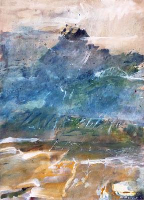 Inversion II | Tempera auf Holz | 30x40 cm | 2011