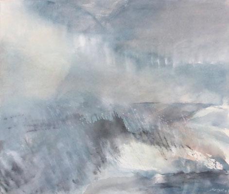 Silent Waters III | Tempera auf Leinwand | 72x62 | 2019