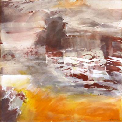 Ursprung II |  Tempera auf Holz | 60x60 cm | 2011
