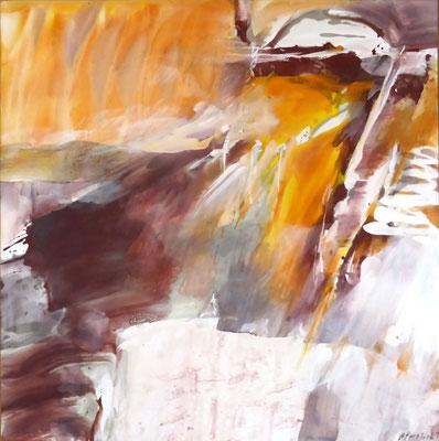Ursprung III |  Tempera auf Holz | 60x60 cm | 2011