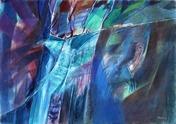 Aurora  I | Eitempera auf Leinwand | 100x70 cm | 1995