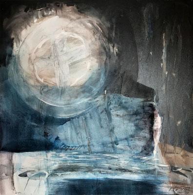 Easter | Tempera auf Holz |  40 x 40 cm | 2019