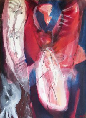 Transfiguration | Eitempera auf Leinwand | 92x130 cm | 1984