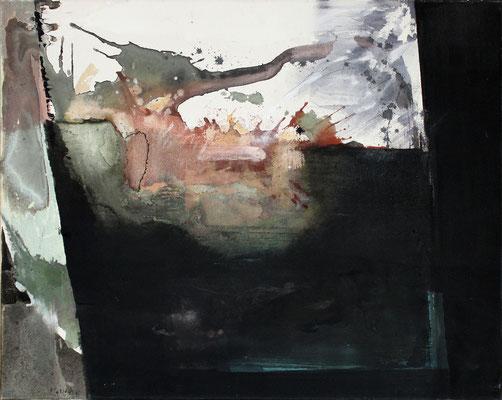 Aufbruch  I | Eitempera auf Leinwand | 85x69 cm | 1995