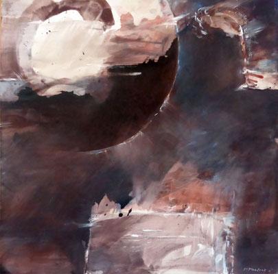 Elementary World  |  Tempera auf Holz | 50x50 cm | 2011