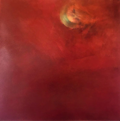 Moonlight |  Tempera auf Leinwand | 2019