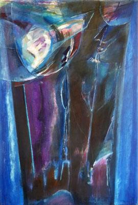 Transition | | Eitempera auf Leinwand | 70x105 cm | 1984