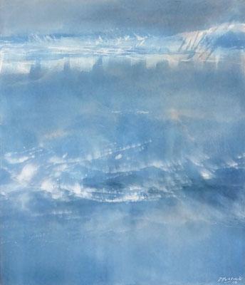 Silent Waters II | Tempera auf Leinwand | 72x62 | 2019