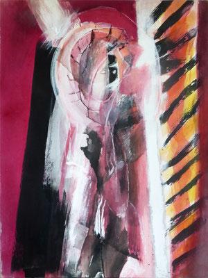 Doppelgänger | Eitempera auf Leinwand | 93x130 cm | 1984