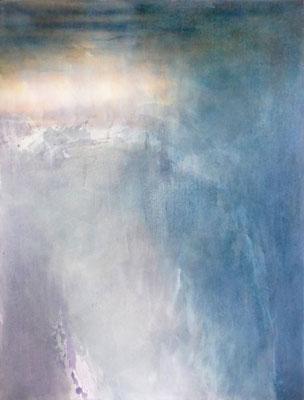 Silent Night I | Tempera auf Leinwand | 90x120 cm | 2020 | Privatbesitz