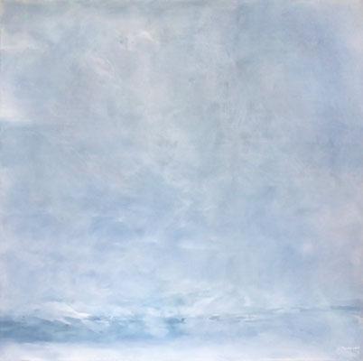 Silent Night II | Tempera auf Leinwand | 120x120 cm | 2020