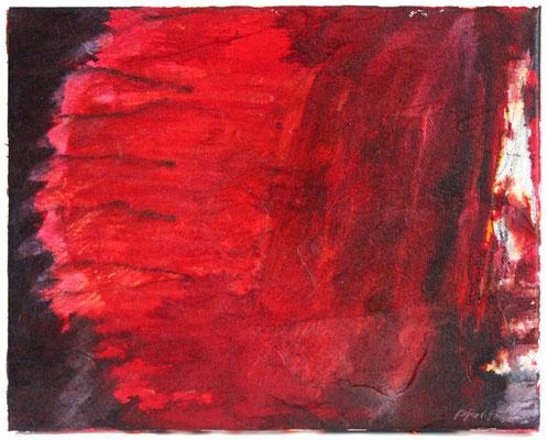 Inferno I | Tempera auf Leinwand | 30x25 cm | 2020