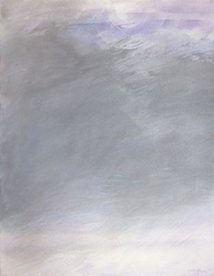 Morning Mist | Tempera auf Leinwand | 52x67 cm | 2020