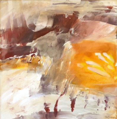Ursprung I |  Tempera auf Holz | 60x60 cm | 2011