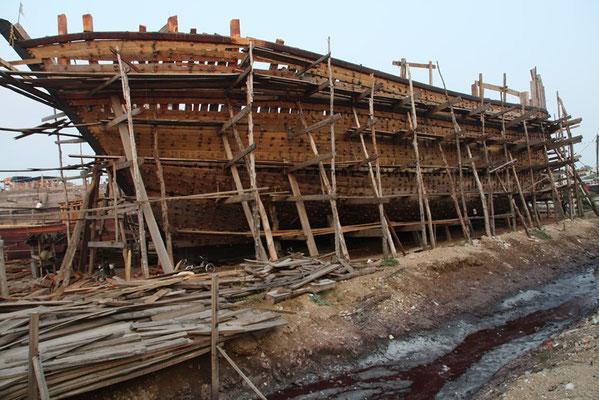Mandvi - chantier naval