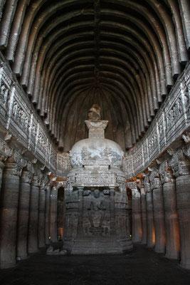 grottes bouddhiques d'Ajanta