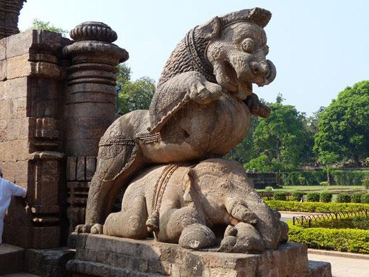 Konarak - temple du Soleil