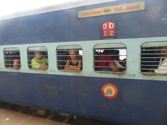 train pour Tirupati