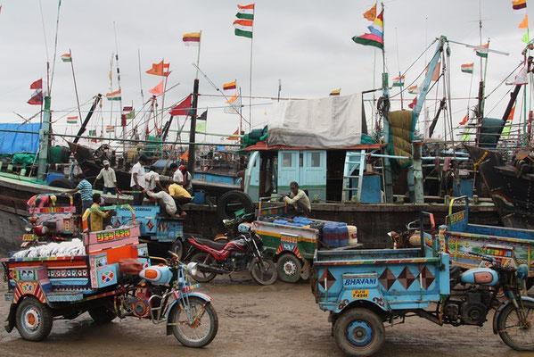 Somnath - le port de pêche