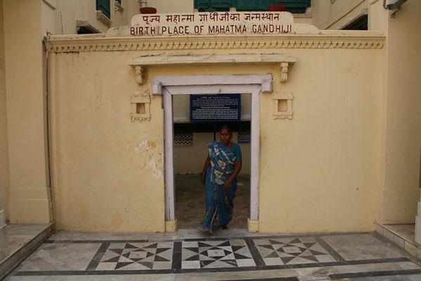Dwarka - maison natale de Ghandi