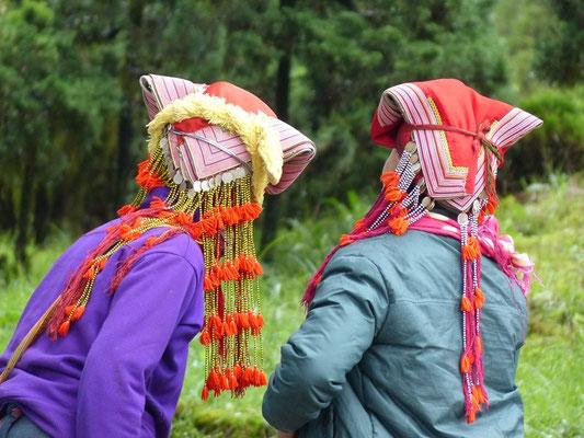 tribu Yao rouge
