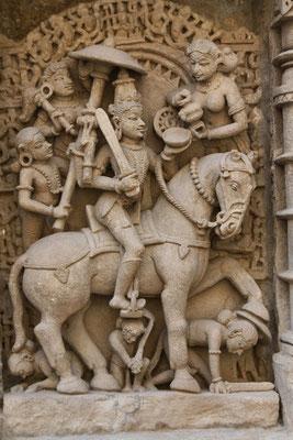 Ahmedabad - puits (ou baoli) Dada Harini Vav