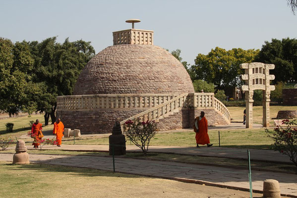 Sanchi - temple bouddhiste