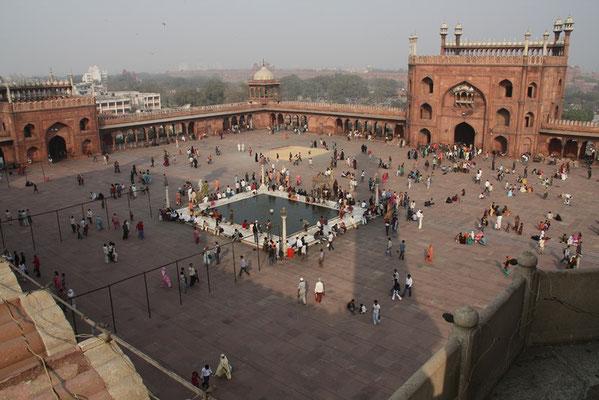 mosquée Jma Masjid de New-Delhi