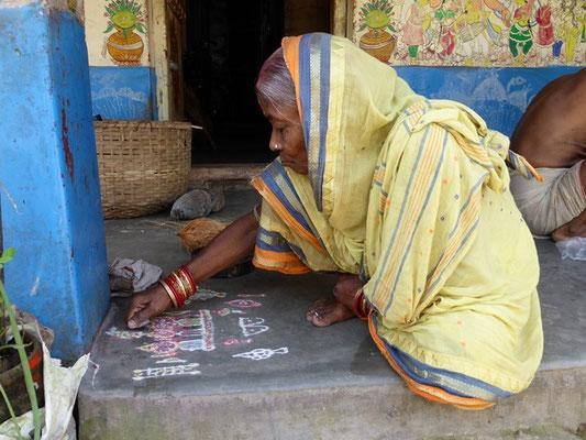 Raghurajpur - village des artisans