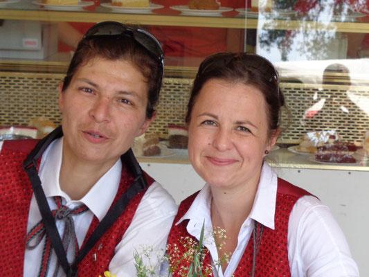 Karin Nikolaus und Susanne Auer