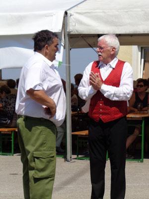Karl Mayr und Karl Heinz Heimberger