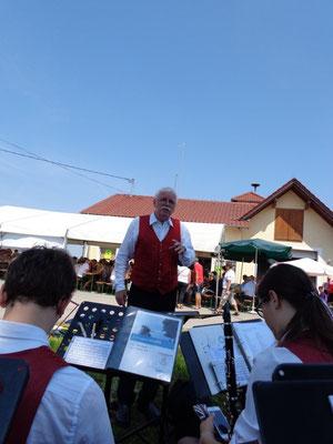 Frühschoppen, Dirigent: Karl Heinz Heimberger