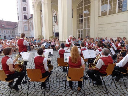MV Christkindl - Schlosskonzert 2015