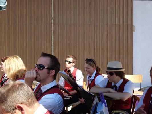 MV Christkindl beim Dorffest in Schwaming - Juli 2015