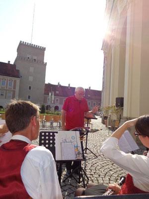 Schlosskonzert Juli 2015 - Schloss Lamberg Steyr - Leitung: Karl Heinz Heimberger