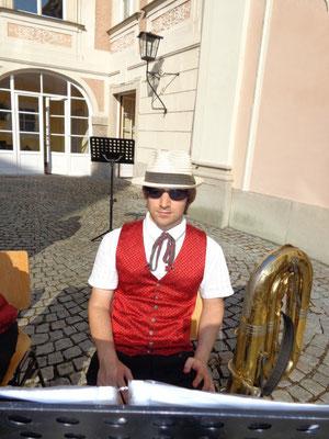 Bnjamin Jodlbauer - Schlosskonzert Juli 2015 - Schloss Lamberg Steyr