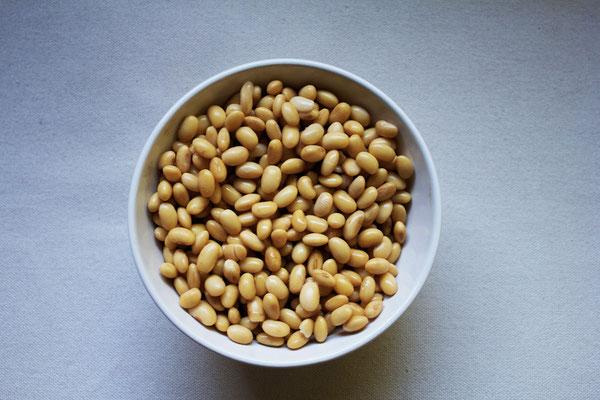 fagioli di soia: proteine vegetali