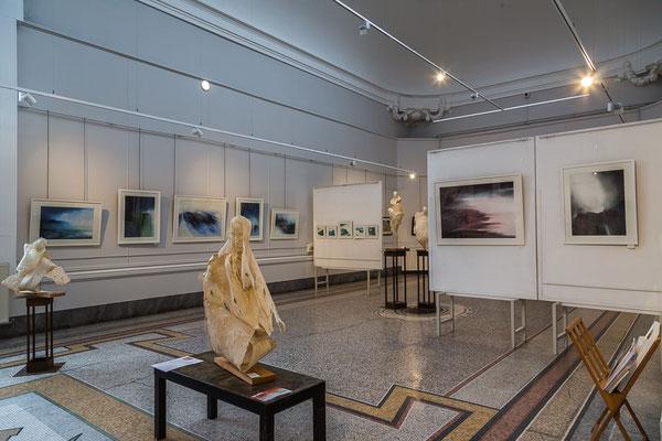 Sculptures de Kelsy et peintures de Muriel Buthier-Chartrain